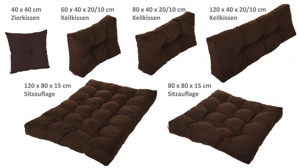 palettenkissen palettenpolster kissen sofa polster verschiedene farben ebay. Black Bedroom Furniture Sets. Home Design Ideas
