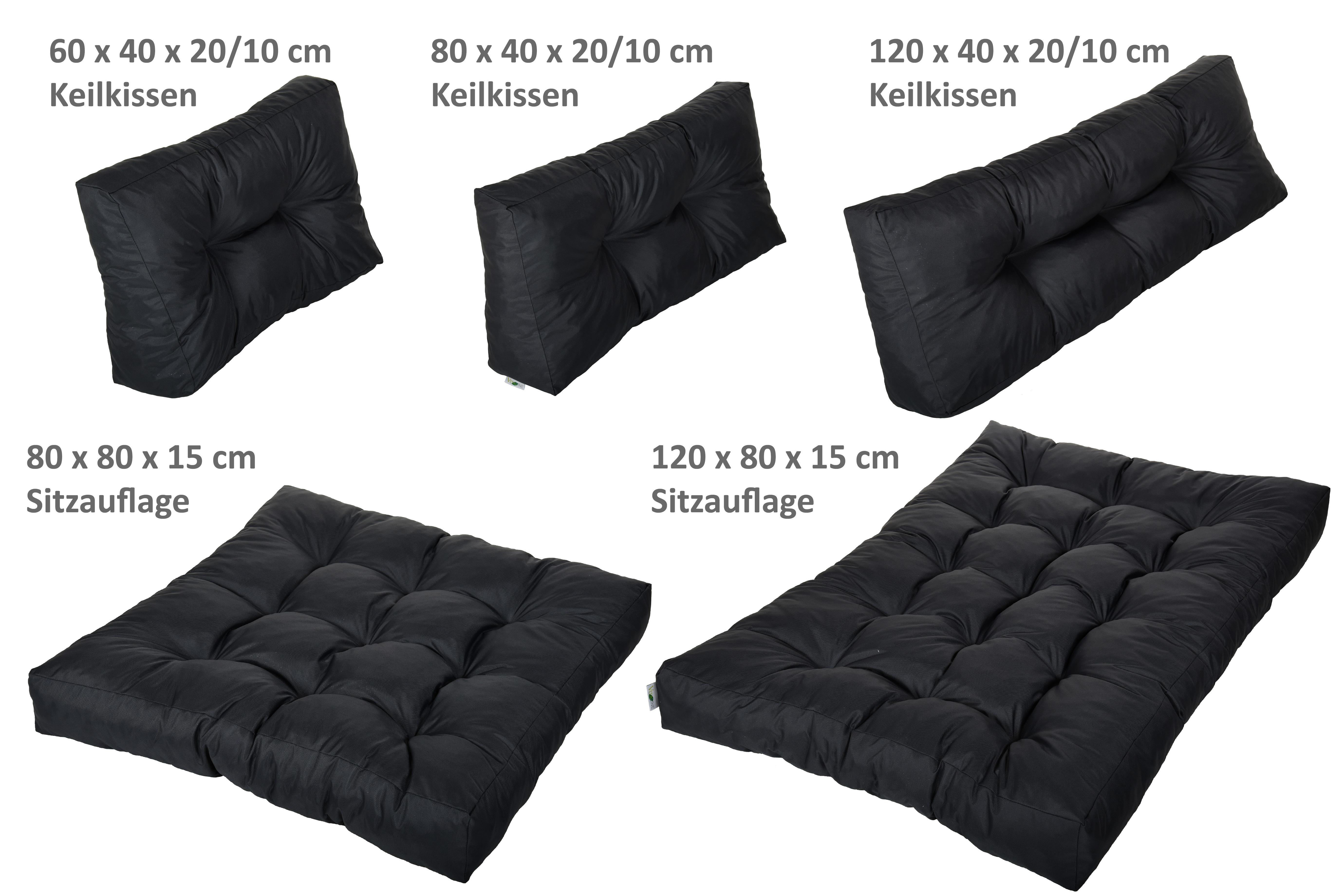 palettenkissen palettensofa palettenpolster polster auflage kissen sofa fx serie ebay. Black Bedroom Furniture Sets. Home Design Ideas