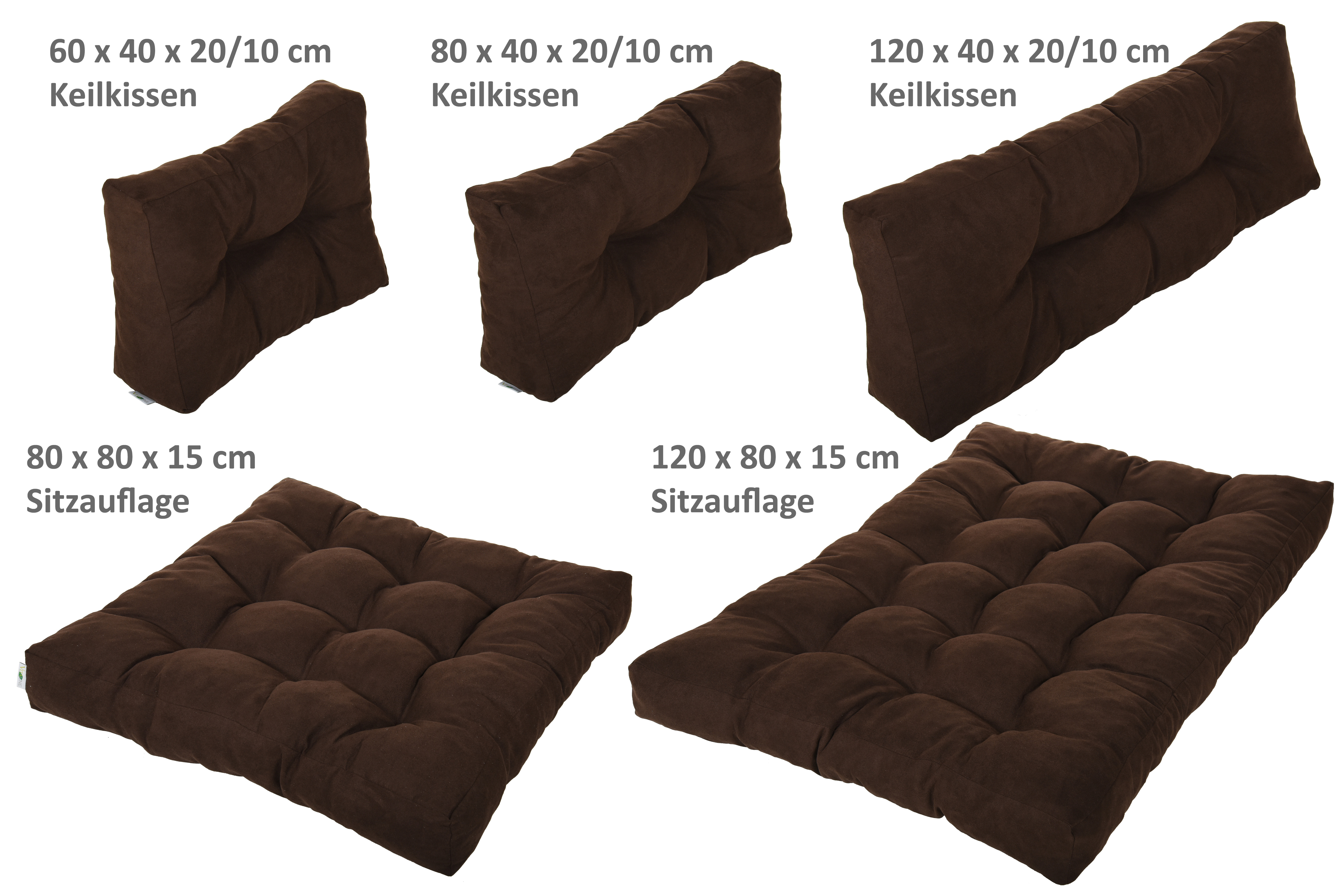 palettenkissen palettenpolster palettensofa polster auflage kissen sofa hc serie ebay. Black Bedroom Furniture Sets. Home Design Ideas