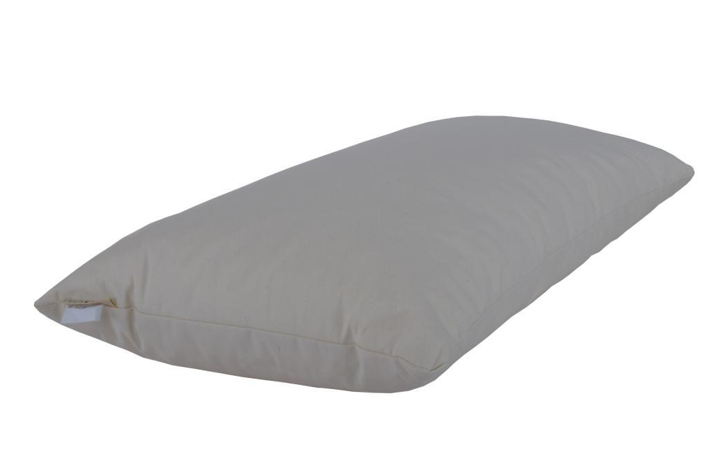 natur latex kissen 40 x 80 x 14 cm ebay. Black Bedroom Furniture Sets. Home Design Ideas